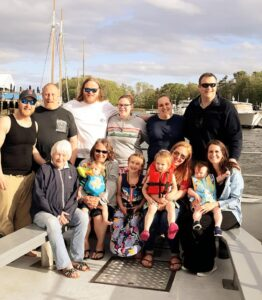 Nor'easter Evening Cruises Boothby Family